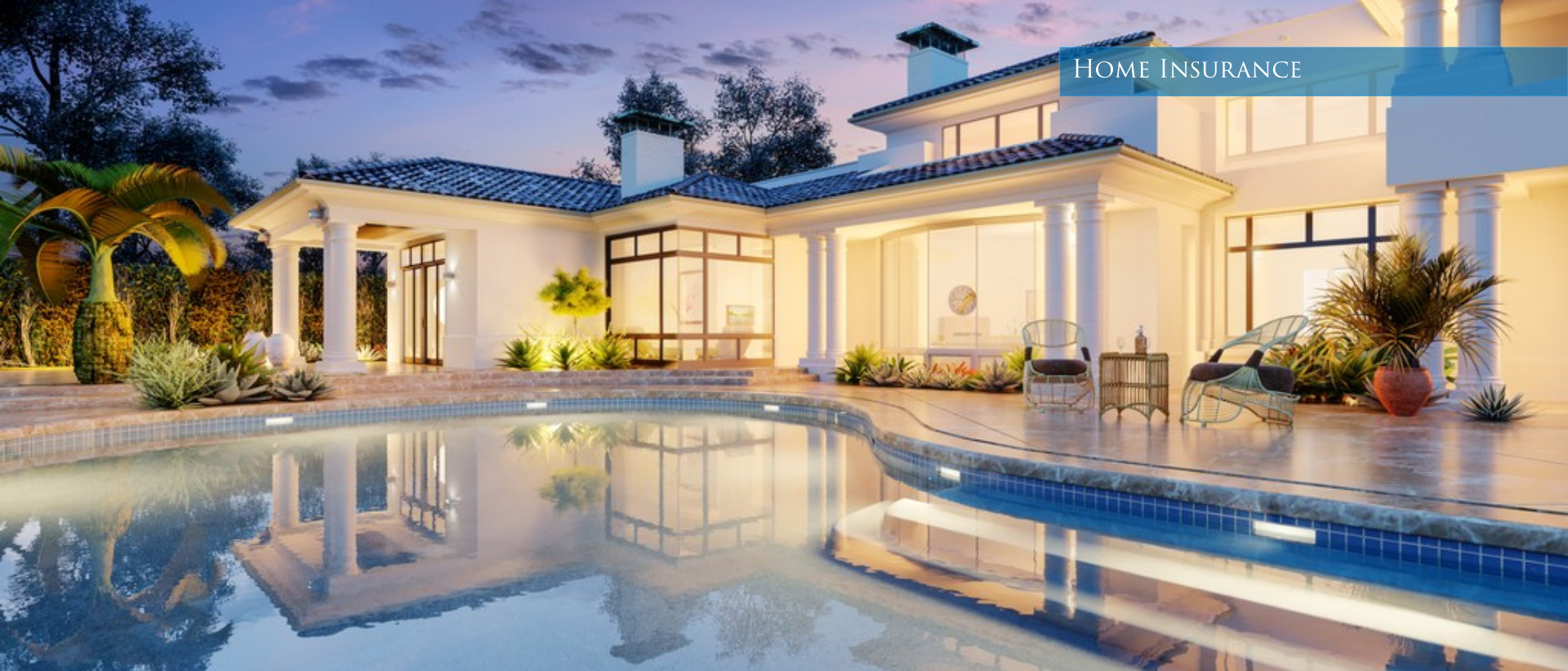 home with a pool